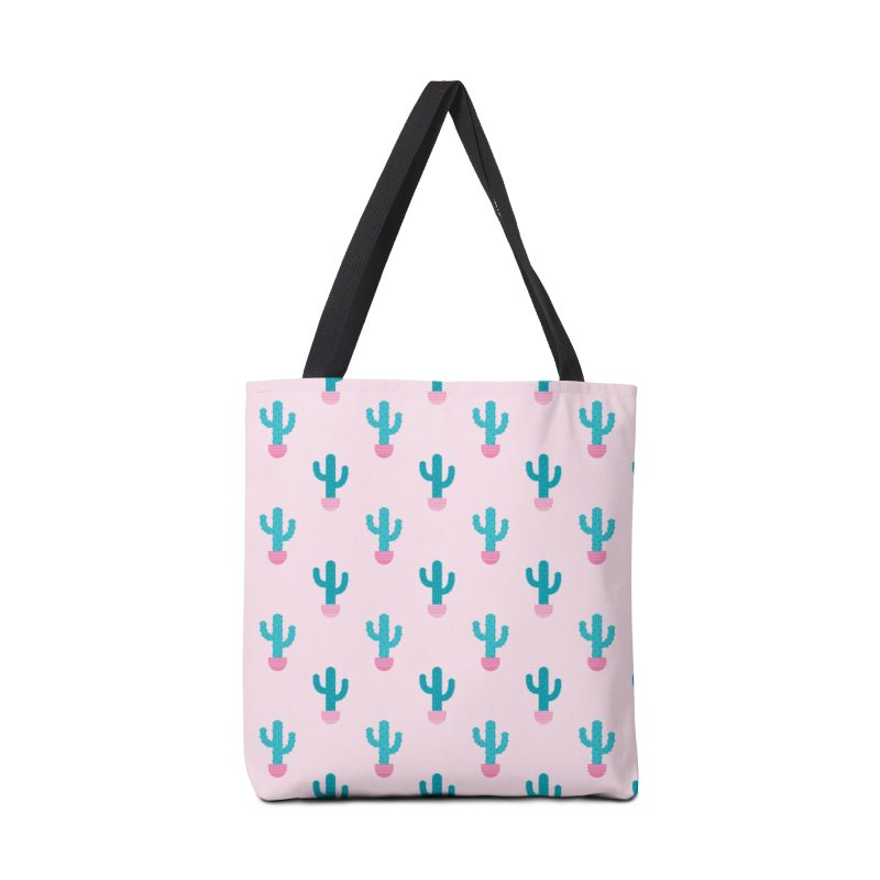 Succulent Cactus Pattern Accessories Tote Bag Bag by abstractocreate's Artist Shop