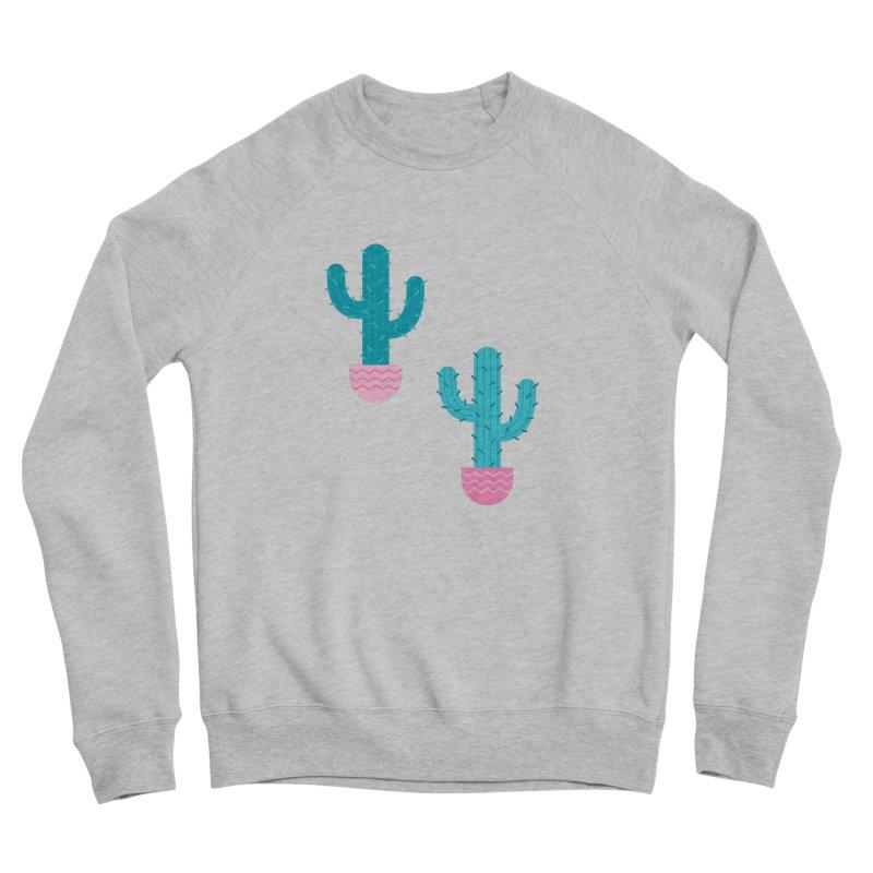 Succulent Cactus Pattern Men's Sponge Fleece Sweatshirt by abstractocreate's Artist Shop