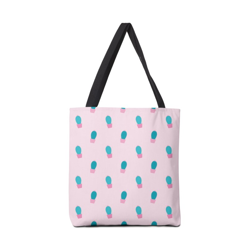 Succulent Cacti Plant Pattern Accessories Tote Bag Bag by abstractocreate's Artist Shop