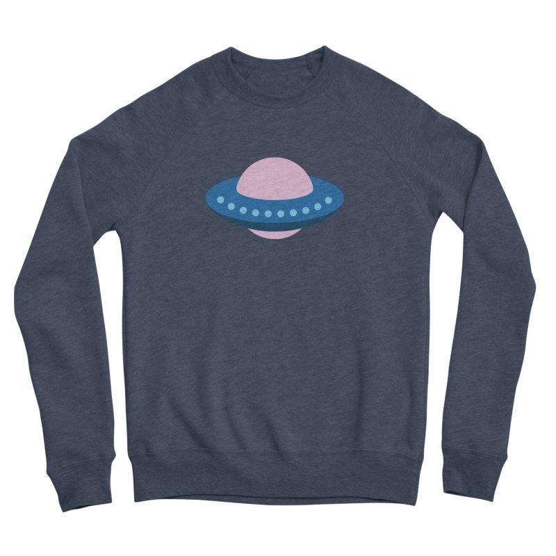 UFO Spaceship Pattern Women's Sponge Fleece Sweatshirt by abstractocreate's Artist Shop