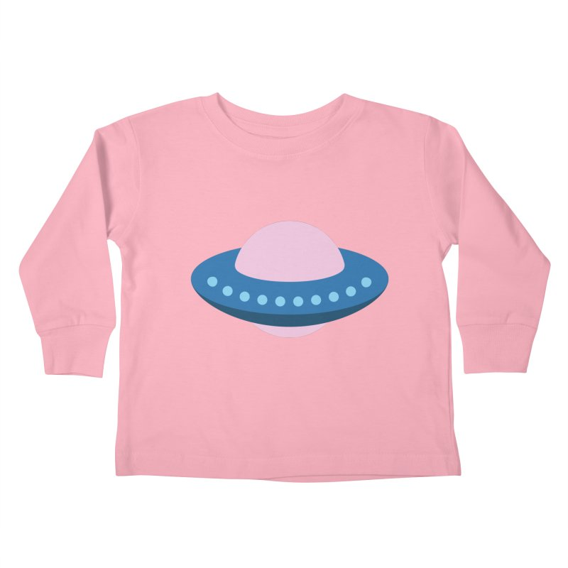 UFO Spaceship Pattern Kids Toddler Longsleeve T-Shirt by abstractocreate's Artist Shop