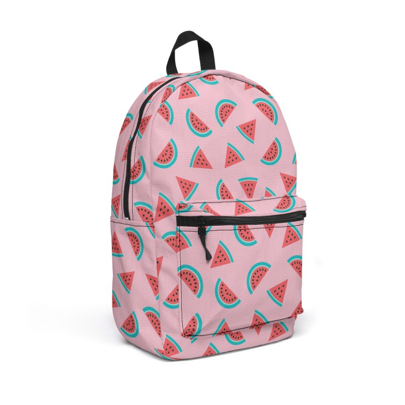 Watermelon Fruit Pattern Accessories Backpack Bag by abstractocreate's Artist Shop