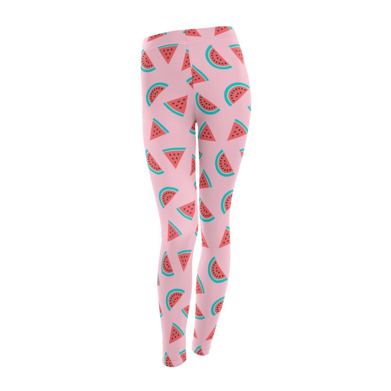 Watermelon Fruit Pattern Women's Leggings Bottoms by abstractocreate's Artist Shop