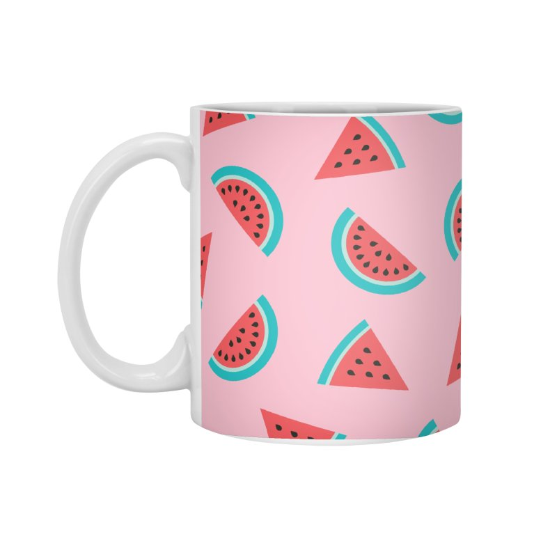 Watermelon Fruit Pattern Accessories Standard Mug by abstractocreate's Artist Shop