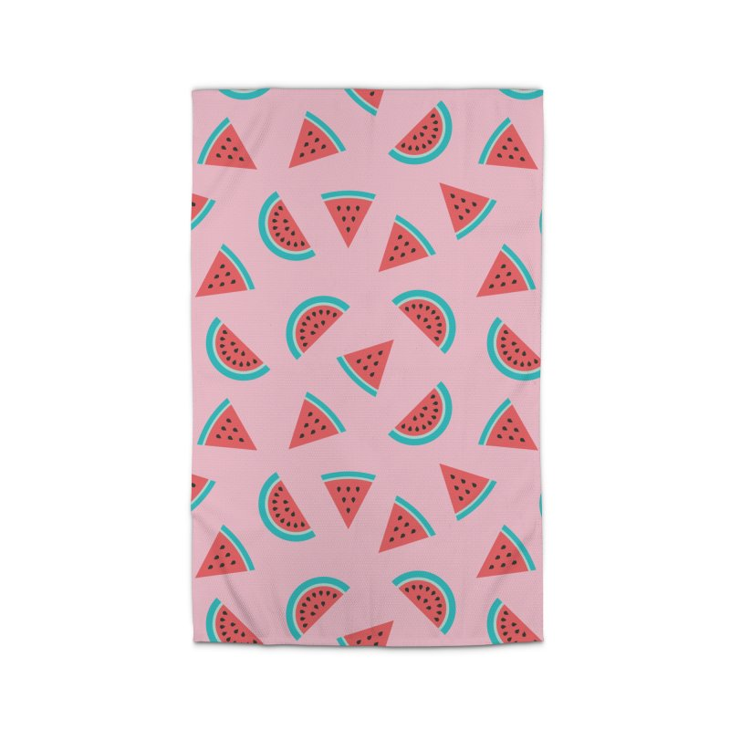 Watermelon Fruit Pattern Home Rug by abstractocreate's Artist Shop