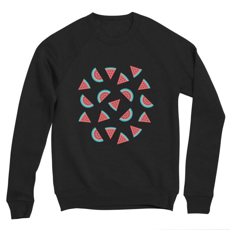 Watermelon Fruit Pattern Men's Sponge Fleece Sweatshirt by abstractocreate's Artist Shop