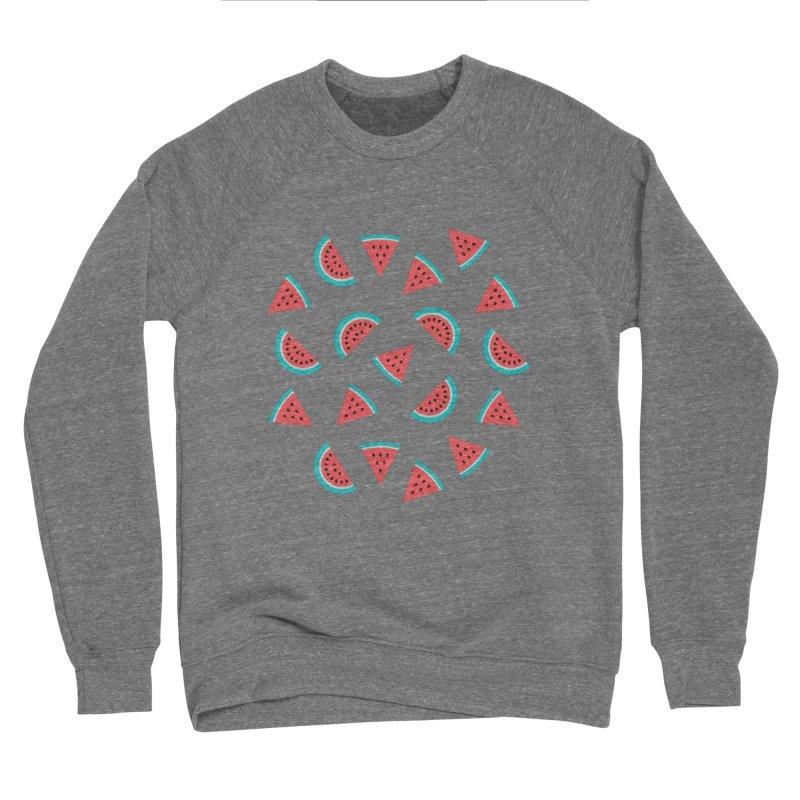 Watermelon Fruit Pattern Women's Sweatshirt by abstractocreate's Artist Shop