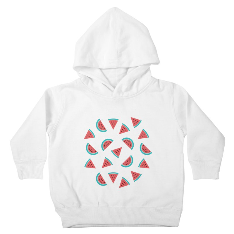 Watermelon Fruit Pattern Kids Toddler Pullover Hoody by abstractocreate's Artist Shop