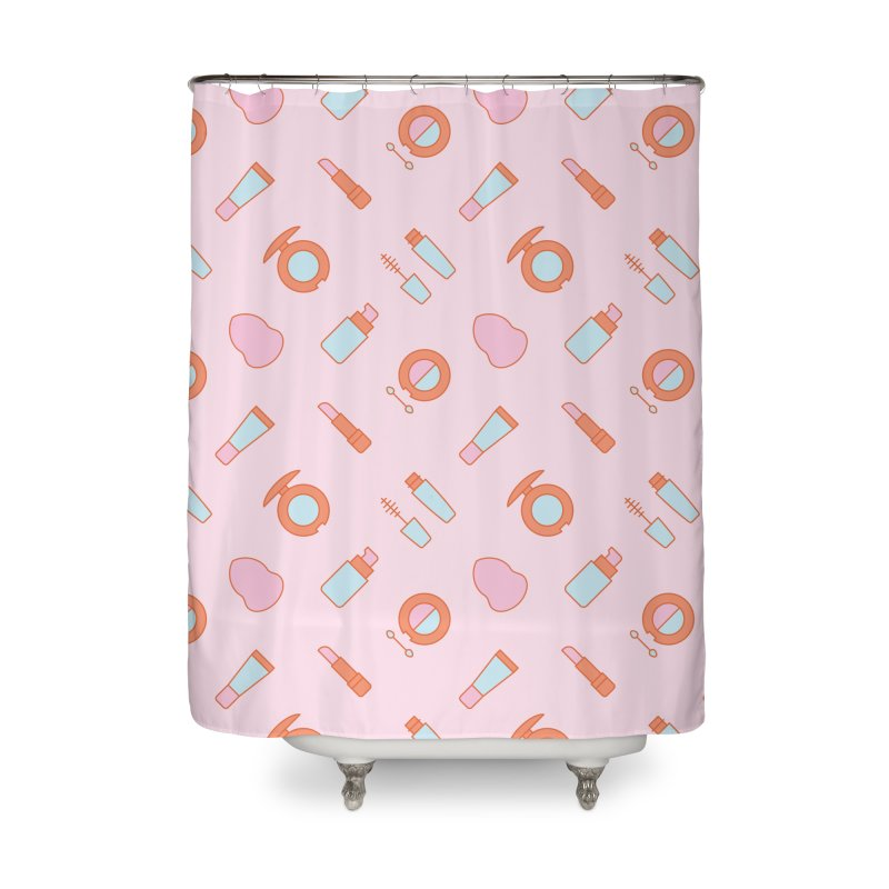 Cosmetics Pattern Home Shower Curtain by abstractocreate's Artist Shop