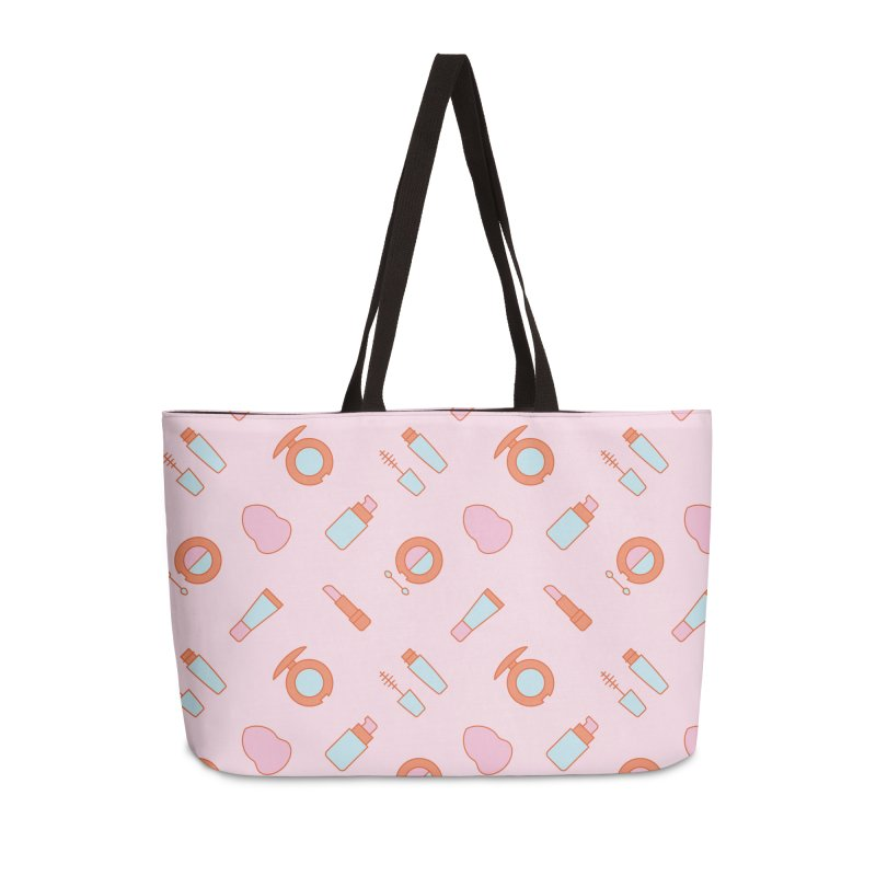 Cosmetics Pattern Accessories Bag by abstractocreate's Artist Shop