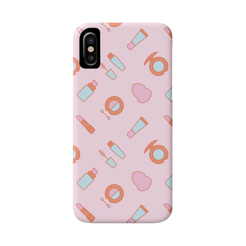 Cosmetics Pattern Accessories Phone Case by abstractocreate's Artist Shop