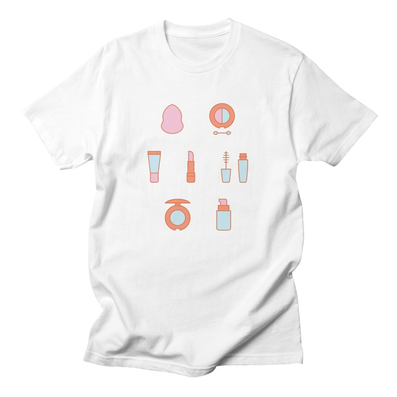 Cosmetics Pattern Men's T-Shirt by abstractocreate's Artist Shop