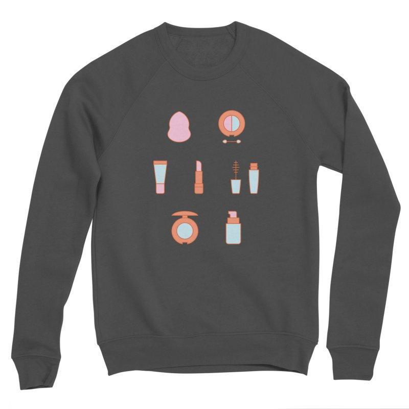 Cosmetics Pattern Women's Sponge Fleece Sweatshirt by abstractocreate's Artist Shop