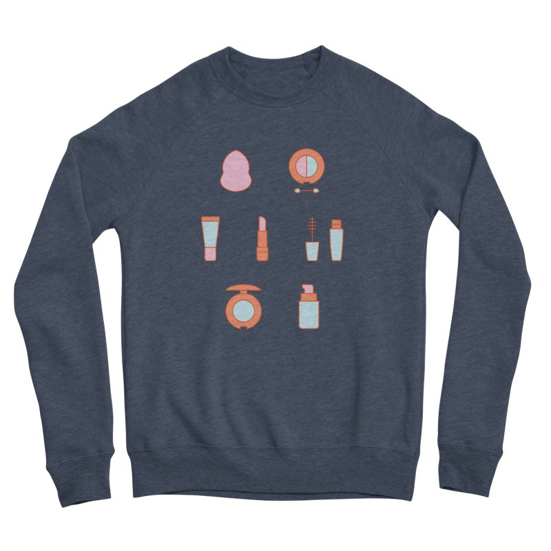 Cosmetics Pattern Women's Sponge Fleece Sweatshirt by abstractocreate's Artist Shop