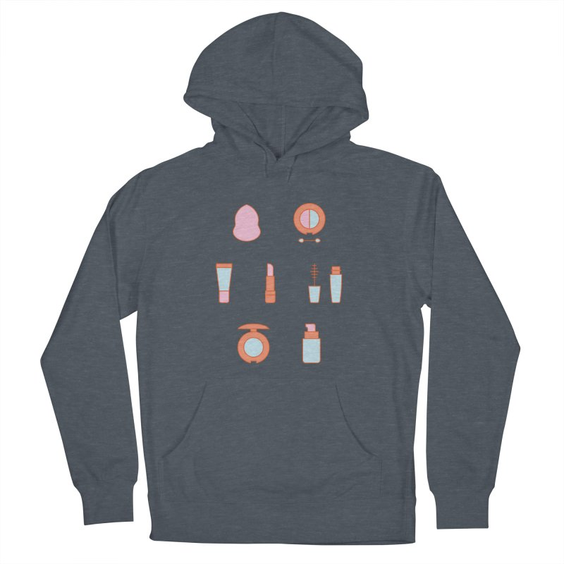 Cosmetics Pattern Men's French Terry Pullover Hoody by abstractocreate's Artist Shop