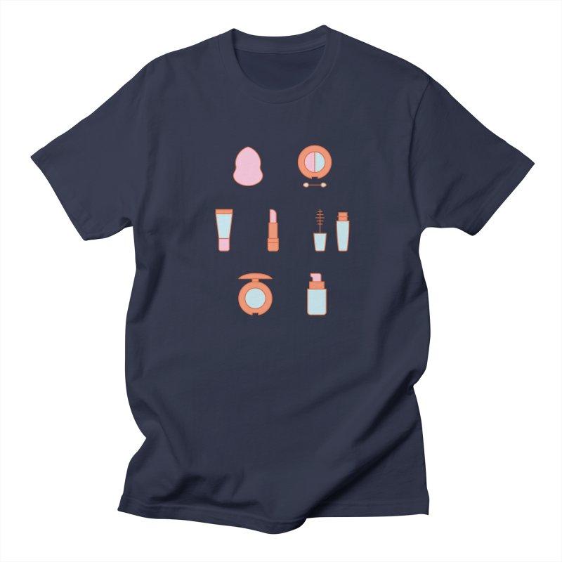 Cosmetics Pattern Men's Regular T-Shirt by abstractocreate's Artist Shop