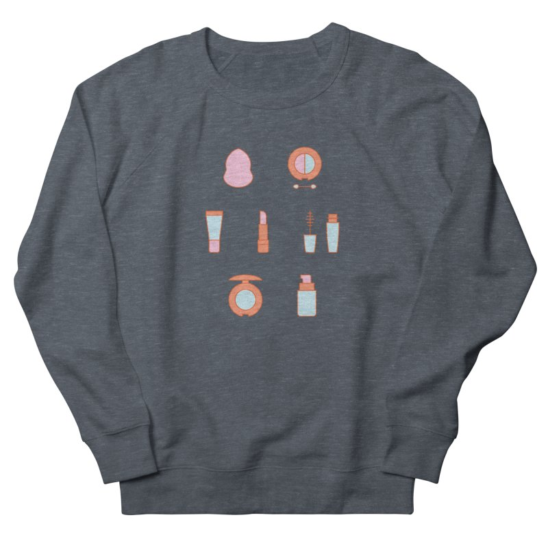 Cosmetics Pattern Women's French Terry Sweatshirt by abstractocreate's Artist Shop