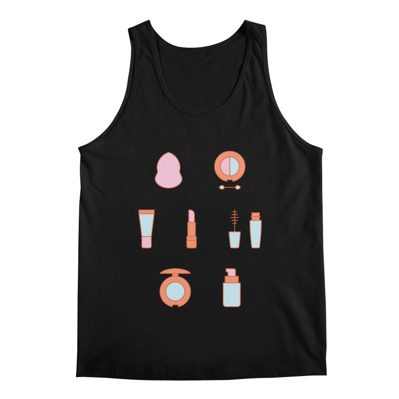 Cosmetics Pattern Men's Regular Tank by abstractocreate's Artist Shop