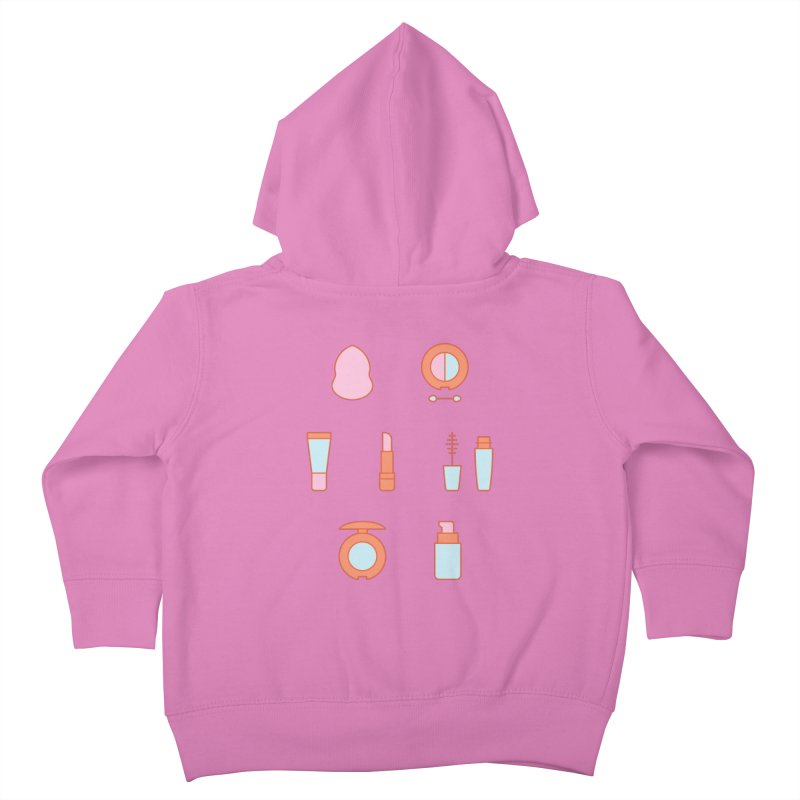 Cosmetics Pattern Kids Toddler Zip-Up Hoody by abstractocreate's Artist Shop