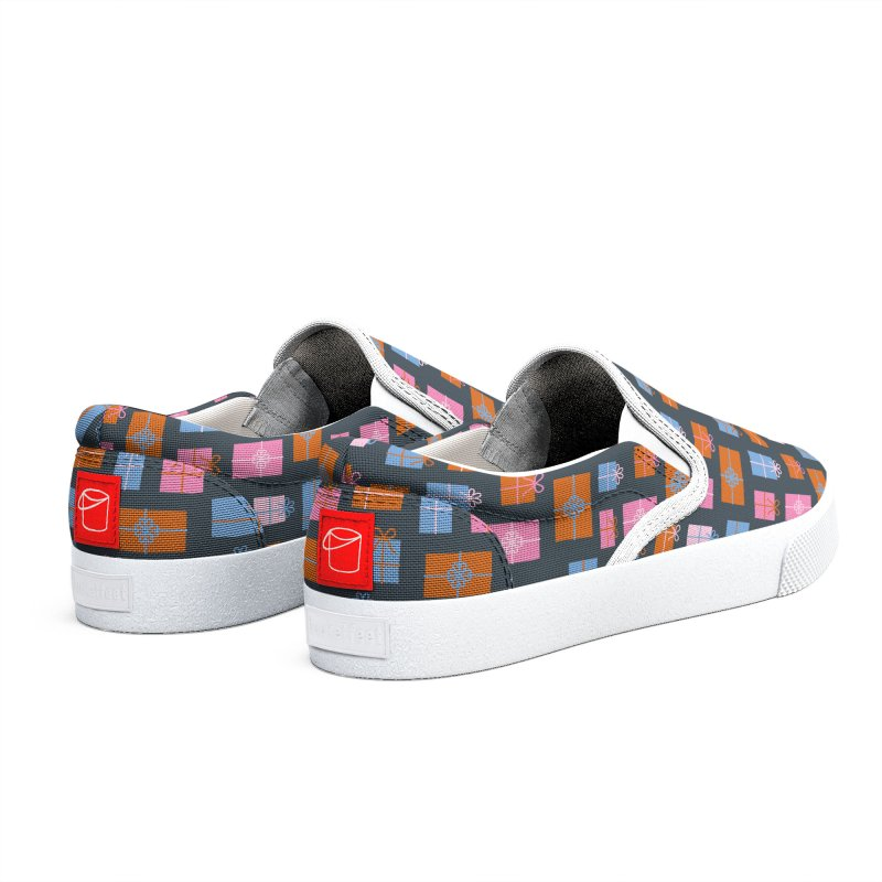 Gift Box Pattern Men's Shoes by abstractocreate's Artist Shop