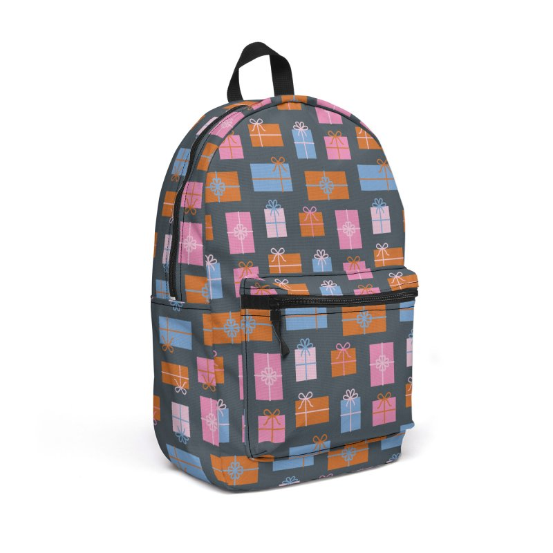 Gift Box Pattern Accessories Backpack Bag by abstractocreate's Artist Shop