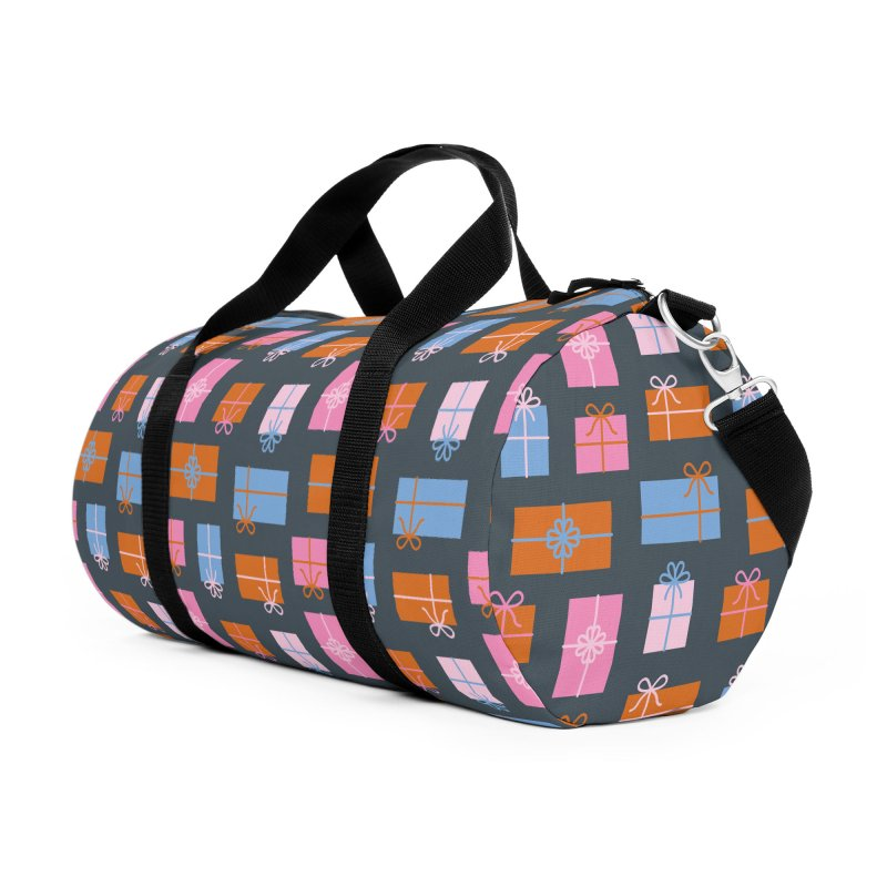 Gift Box Pattern Accessories Duffel Bag Bag by abstractocreate's Artist Shop