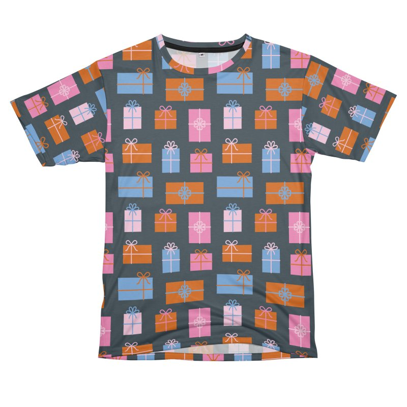 Gift Box Pattern Men's T-Shirt Cut & Sew by abstractocreate's Artist Shop