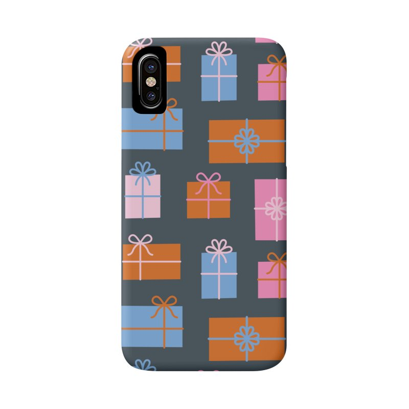 Gift Box Pattern Accessories Phone Case by abstractocreate's Artist Shop