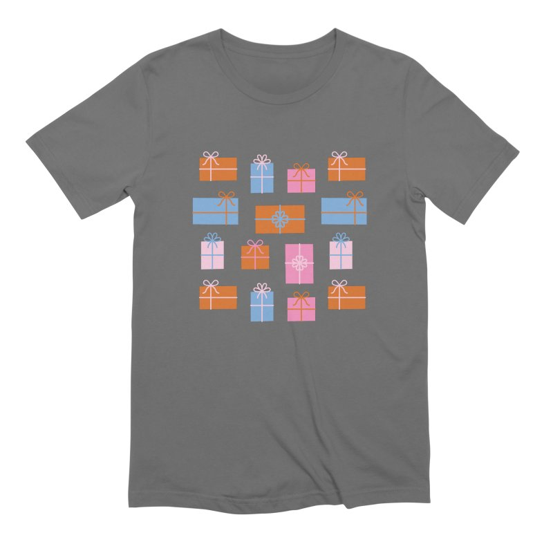 Gift Box Pattern Men's Extra Soft T-Shirt by abstractocreate's Artist Shop