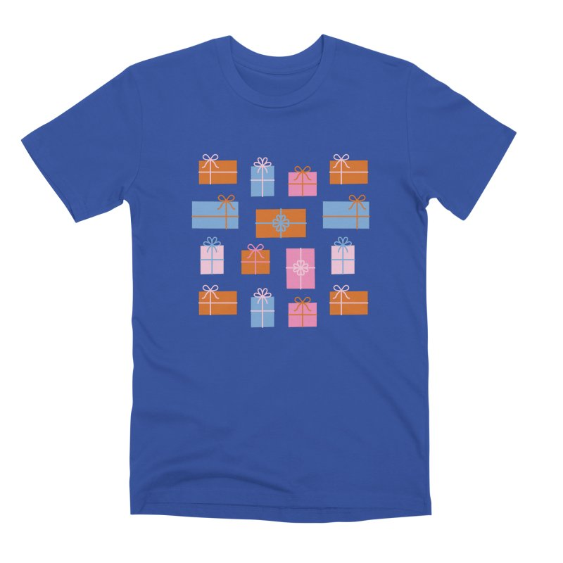 Gift Box Pattern Men's T-Shirt by abstractocreate's Artist Shop