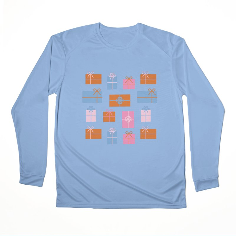 Gift Box Pattern Women's Performance Unisex Longsleeve T-Shirt by abstractocreate's Artist Shop