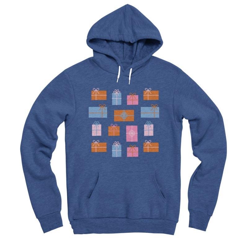 Gift Box Pattern Women's Sponge Fleece Pullover Hoody by abstractocreate's Artist Shop