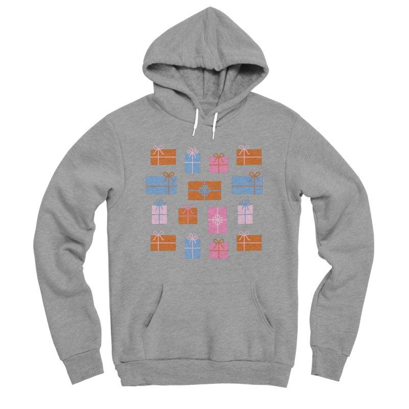 Gift Box Pattern Men's Sponge Fleece Pullover Hoody by abstractocreate's Artist Shop