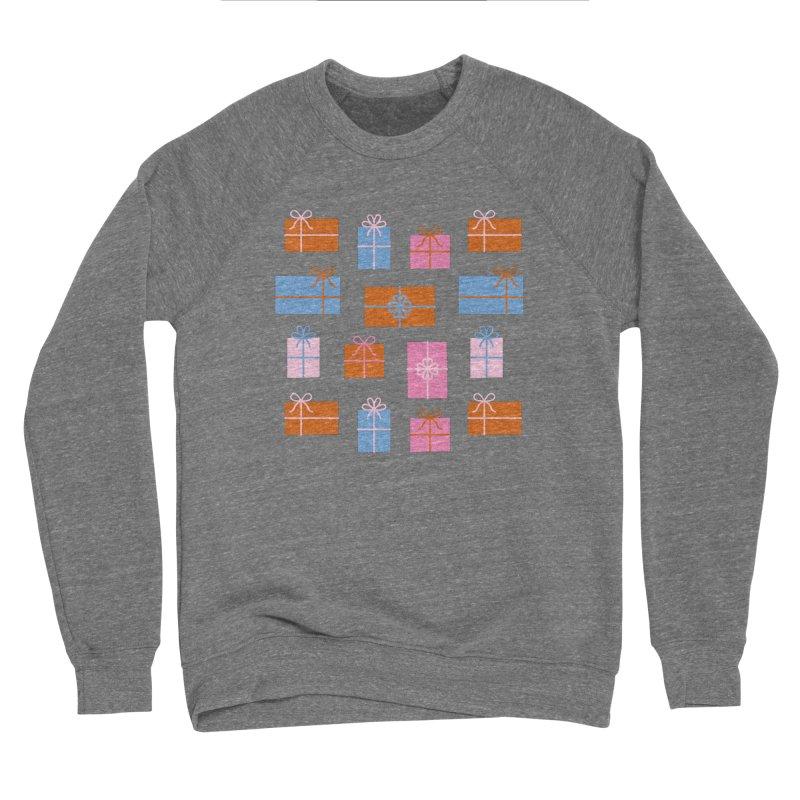 Gift Box Pattern Women's Sponge Fleece Sweatshirt by abstractocreate's Artist Shop
