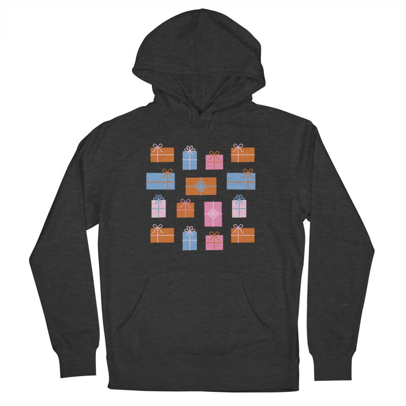 Gift Box Pattern Men's French Terry Pullover Hoody by abstractocreate's Artist Shop