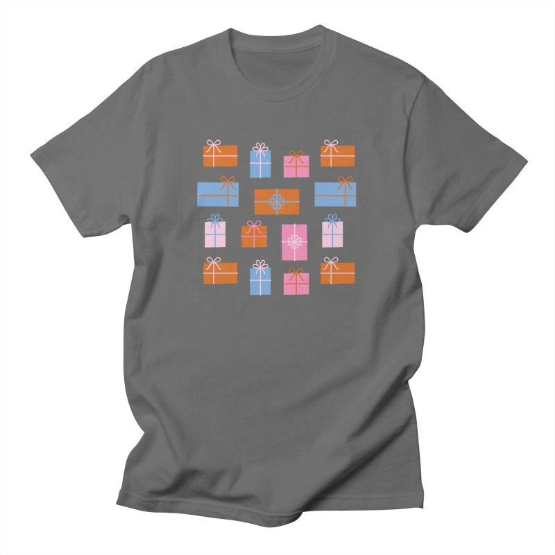 Gift Box Pattern Women's T-Shirt by abstractocreate's Artist Shop