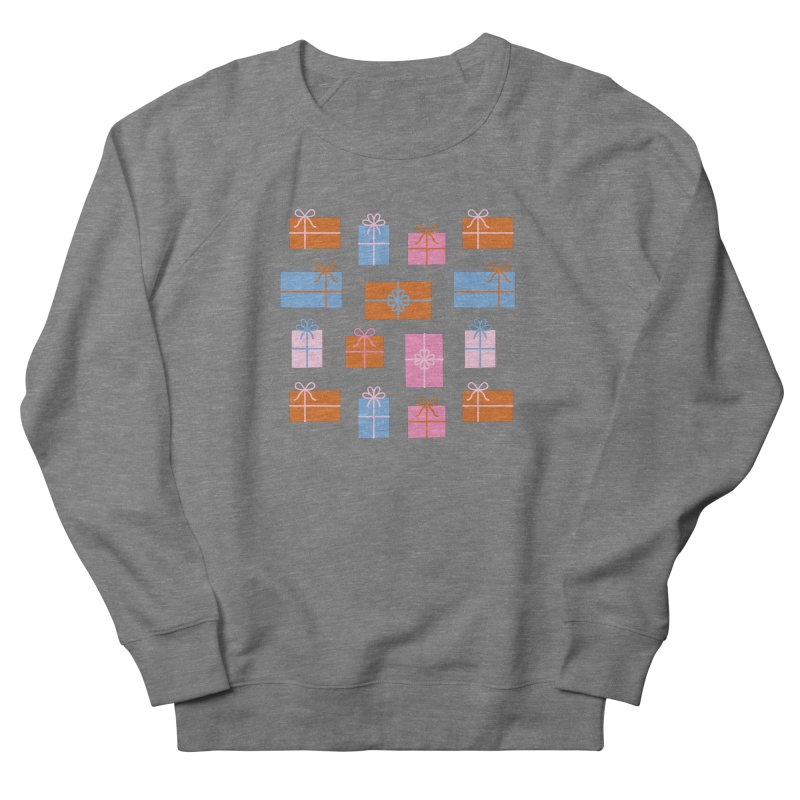 Gift Box Pattern Women's French Terry Sweatshirt by abstractocreate's Artist Shop