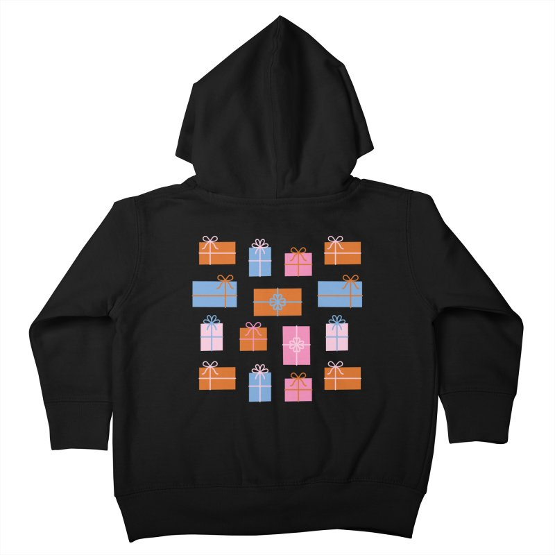 Gift Box Pattern Kids Toddler Zip-Up Hoody by abstractocreate's Artist Shop