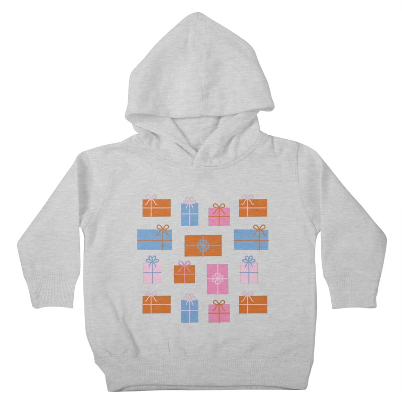 Gift Box Pattern Kids Toddler Pullover Hoody by abstractocreate's Artist Shop