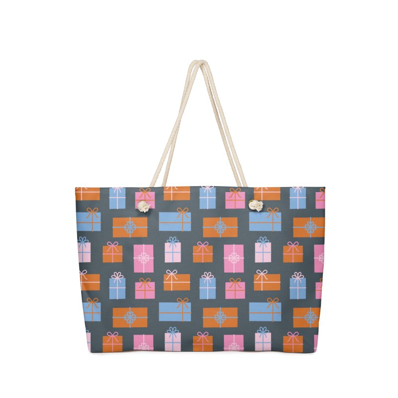 Gift Box Pattern Accessories Bag by abstractocreate's Artist Shop