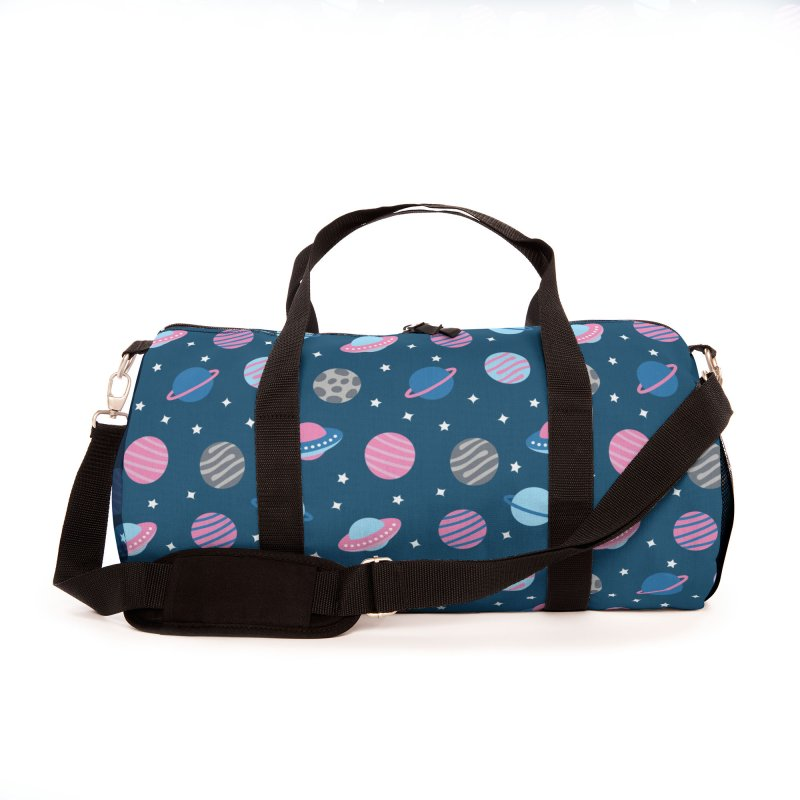 Universe & Planets Pattern Accessories Bag by abstractocreate's Artist Shop