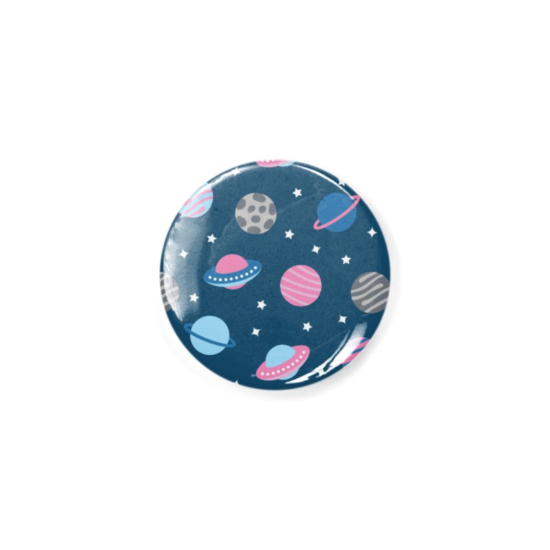 Universe & Planets Pattern Accessories Button by abstractocreate's Artist Shop