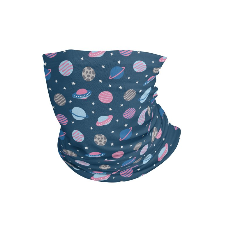 Universe & Planets Pattern Accessories Neck Gaiter by abstractocreate's Artist Shop
