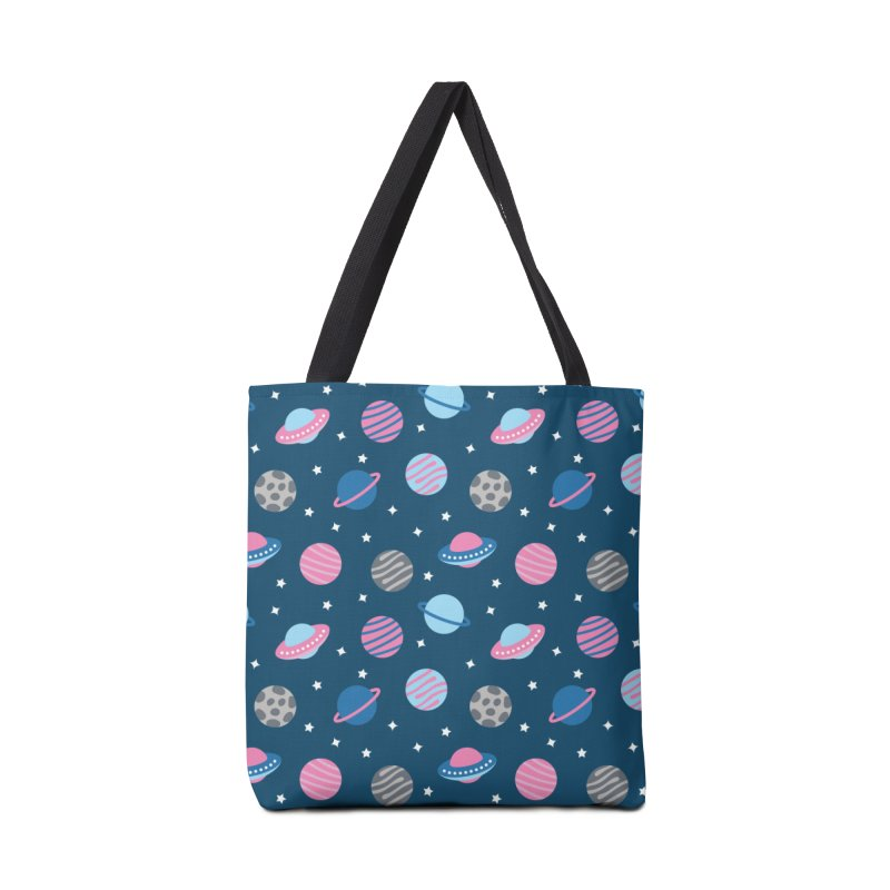 Universe & Planets Pattern Accessories Tote Bag Bag by abstractocreate's Artist Shop