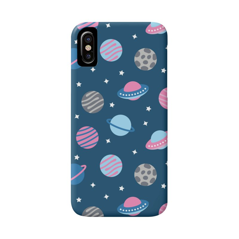 Universe & Planets Pattern Accessories Phone Case by abstractocreate's Artist Shop