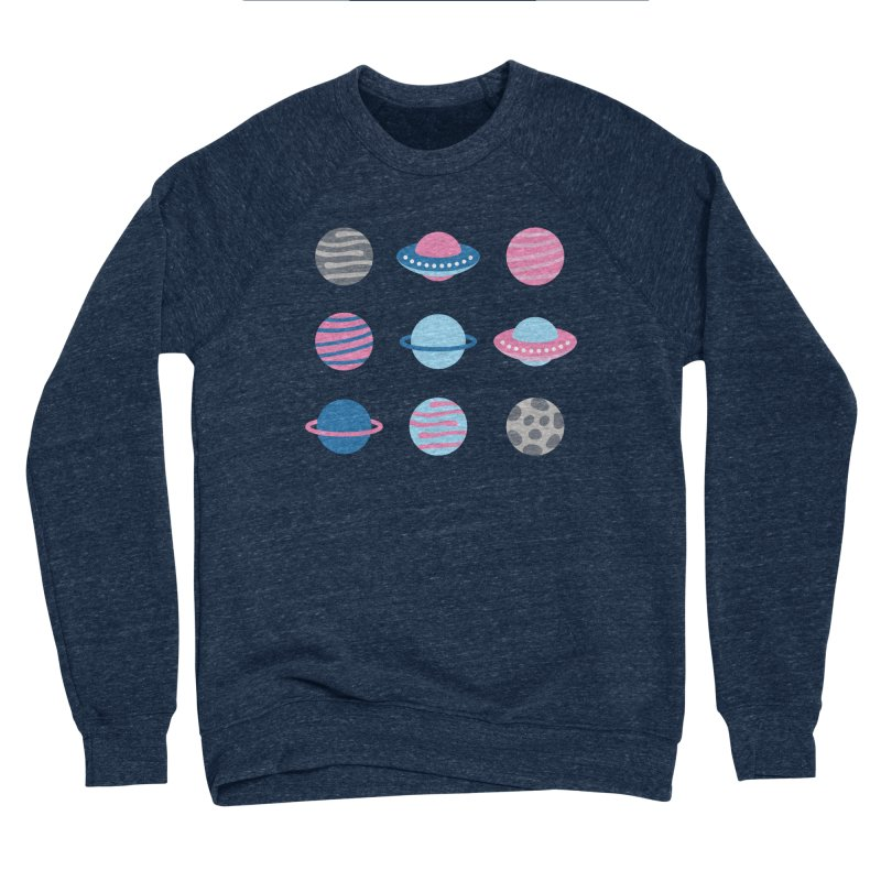 Universe & Planets Pattern Men's Sponge Fleece Sweatshirt by abstractocreate's Artist Shop
