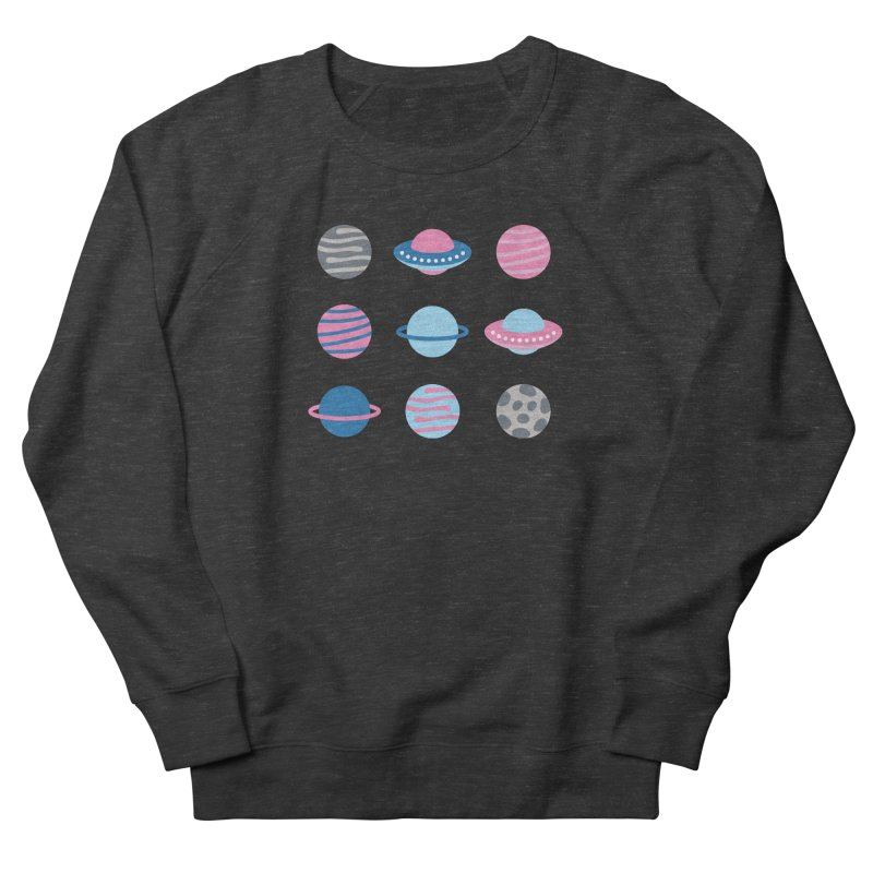 Universe & Planets Pattern Men's French Terry Sweatshirt by abstractocreate's Artist Shop