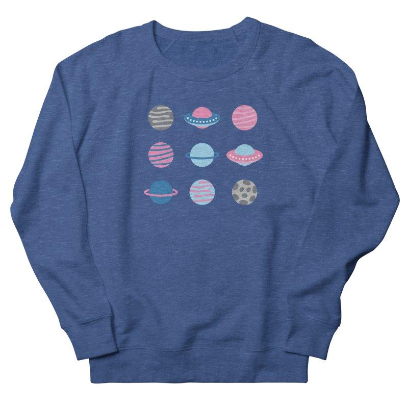 Universe & Planets Pattern Men's Sweatshirt by abstractocreate's Artist Shop