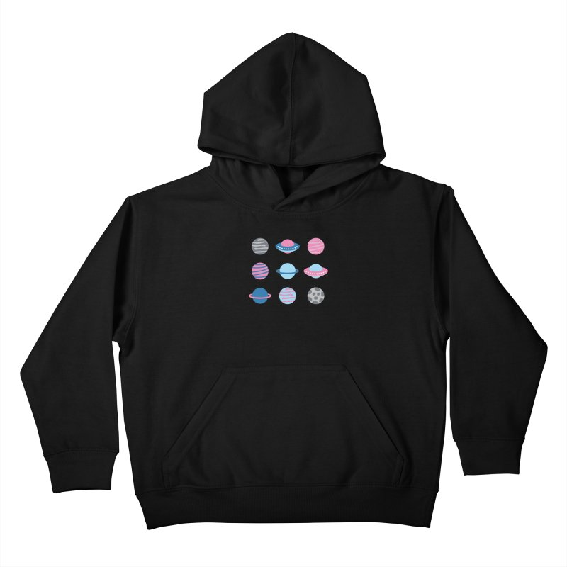 Universe & Planets Pattern Kids Pullover Hoody by abstractocreate's Artist Shop