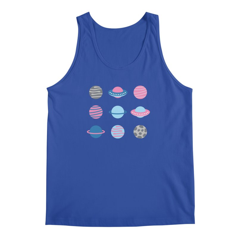 Universe & Planets Pattern Men's Regular Tank by abstractocreate's Artist Shop